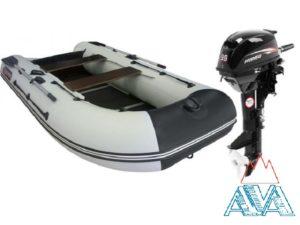 Лодка Альбатрос-340 + HIDEA-9.8