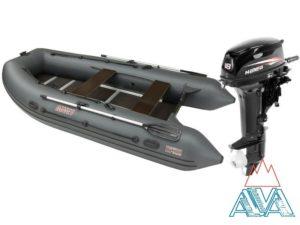 Надувная лодка Антей 380 + мотор HIDEA HD18 FHS