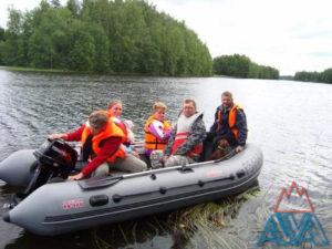 Надувная лодка Антей-420