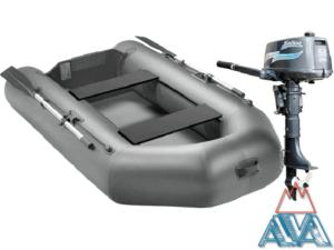 Комплект - Надувная лодка Арчер А-280 + Лодочный мотор Sailor T5.0S купить недорого. СКИДКА 15%!