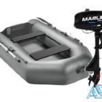 Надувная лодка Арчер А-280 + мотор Marlin MP 3.5