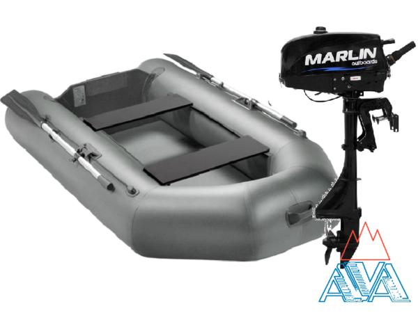 Комплект - Надувная лодка Арчер А-280 + Лодочный мотор Marlin 3.5 AВMHS купить недорого. Цена: 36700 руб.