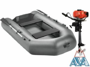 Комплект - Надувная лодка Арчер А-280 + Лодочный мотор GM 3.5HP купить недорого. СКИДКА!
