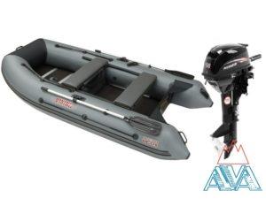 Лодка Викинг-320H + мотор Hidea-9.8