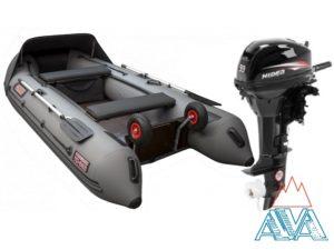 Надувная лодка Викинг 360PRO + мотор Hidea HD9.9 FHS