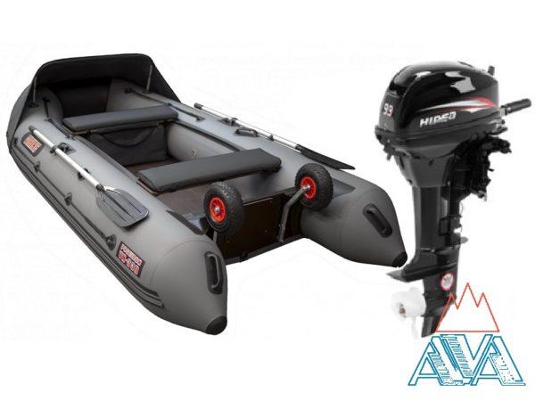 Лодка Викинг-360PRO + мотор Hidea-9.9