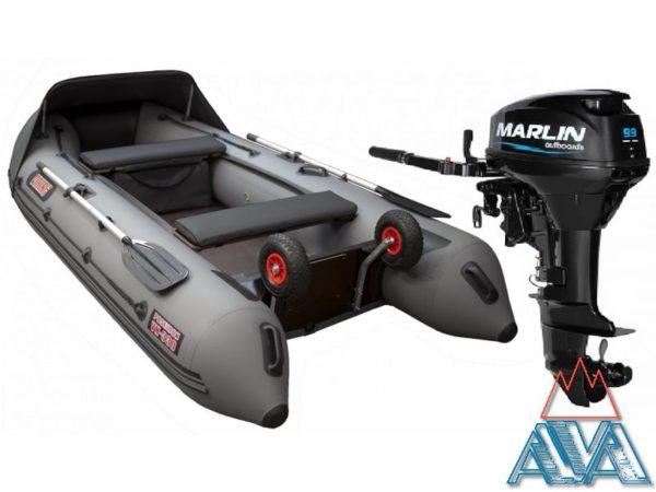 Лодка Викинг VN 360PRO + Мотор Marlin MP9.9 AMHS купить недорого. Цена: 106900 руб.