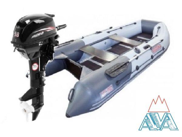 Надувная лодка Касатка 335 + мотор Hidea HD9.8 FHS