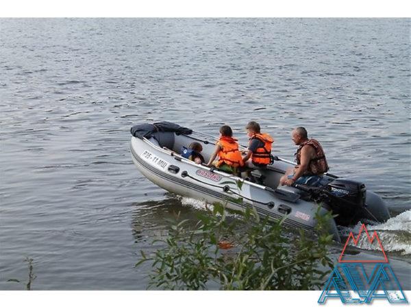 Надувная лодка пвх Касатка KS 385 SPORT/MARINE