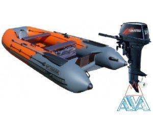 Лодка Навигатор 380 НДНД + TOHATSU 18 E2 S