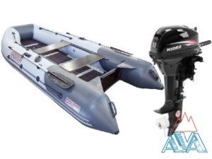 Надувная лодка Касатка 335 + мотор Hidea HD9.9 FHS
