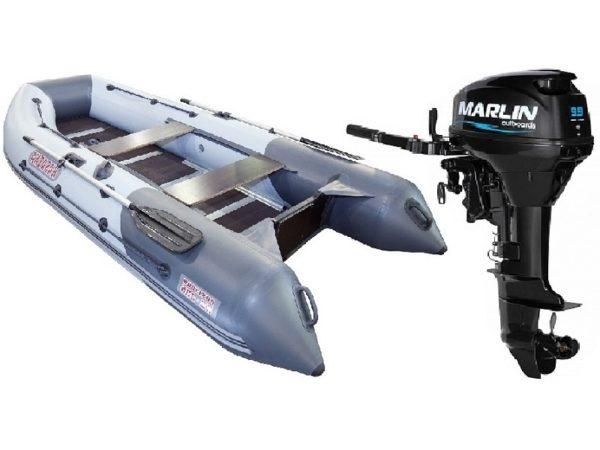 Лодка Касатка KS 365 + Мотор Marlin MP 9.9 AMHS купить недорого. Цена: 111000 руб.