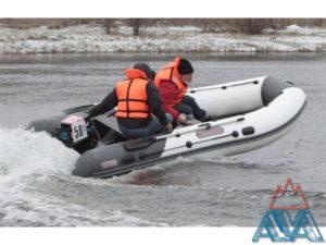 Надувная лодка пвх Касатка KS 385 SPORT