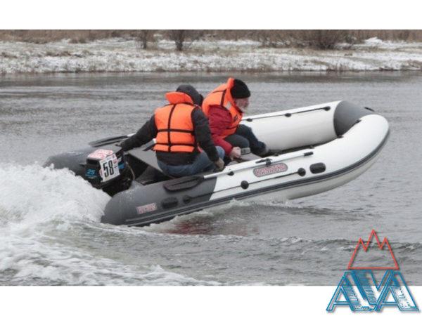 Надувная лодка Касатка 385 SPORT