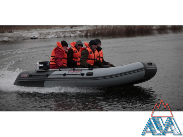 Надувная лодка пвх Касатка KS 385 MARINE
