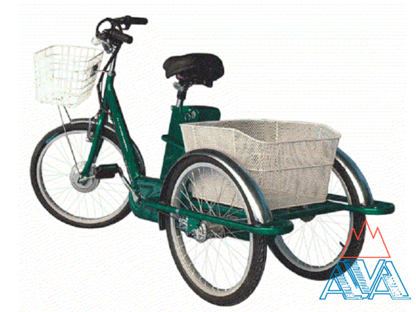 Электровелосипед 3-х колесный Farmer E-3W 24'' по отличной цене! СКИДКА 18%!
