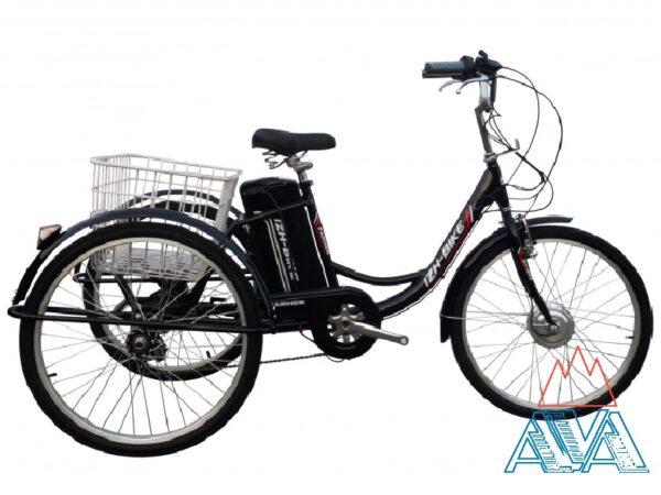 """Электровелосипед Трехколесный Farmer-Li-ion 24"""" 250W. СКИДКА!"""