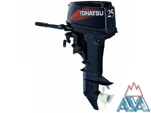 Лодочный мотор Tohatsu М25Н S Двухтактный купить недорого.