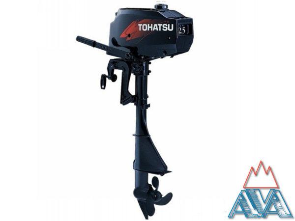 Лодочный мотор TOHATSU M2.5 A2 Двухтактный купить недорого. Цена: 34300 руб.