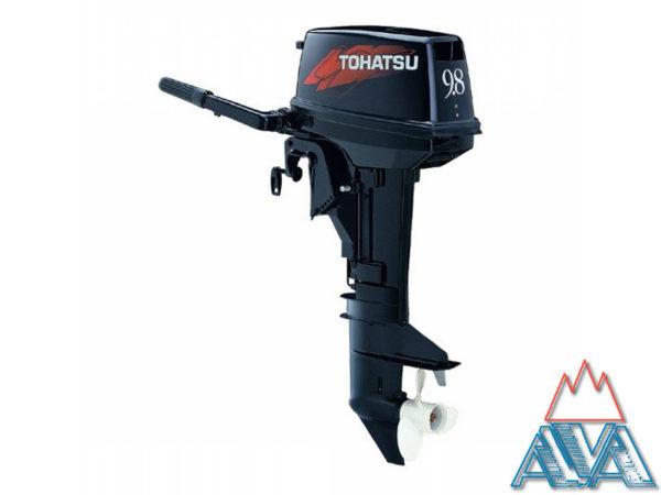 Лодочный мотор TOHATSU M 9.8 S Двухтактный, АКЦИЯ
