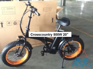 Электровелосипед Фэтбайк 500W Crosscountry