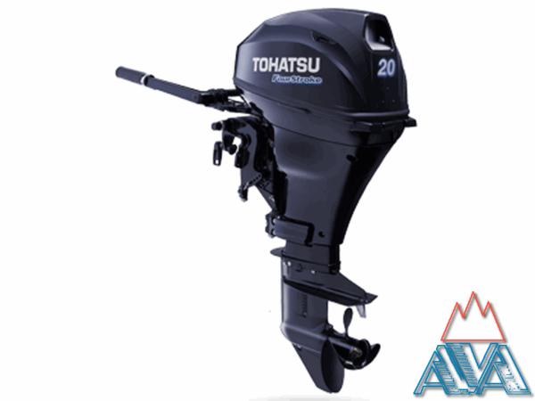 Лодочный мотор TOHATSU MFS 20D S Четырехтактный купить недорого.