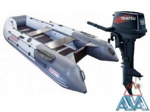 Лодка Касатка-335 + TOHATSU M9.8