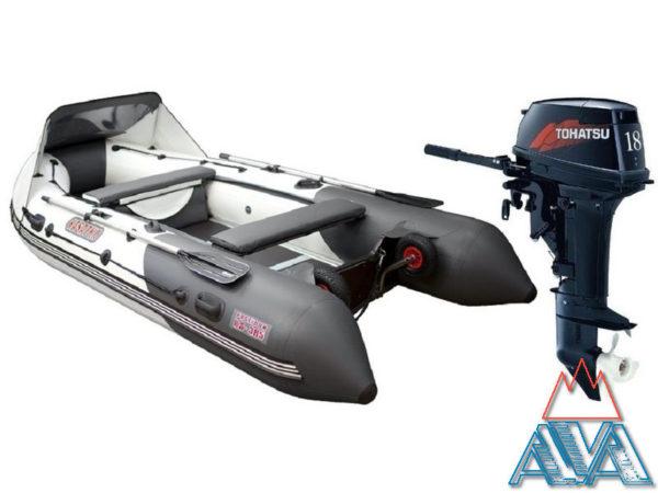 Лодка Касатка-365 + TOHATSU M18