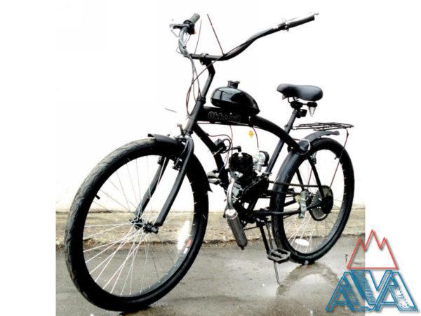 Велосипед с мотором ZNC-32007 50см3 (2-х тактный) СКИДКА 25%