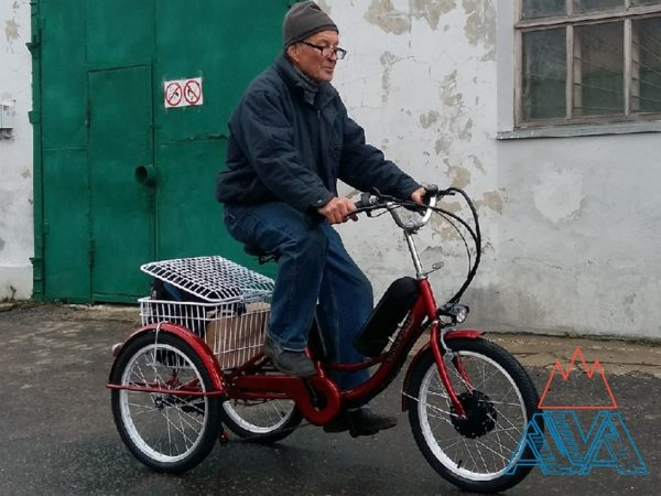 Трехколесный Электровелосипед Okkervil 350W 20''