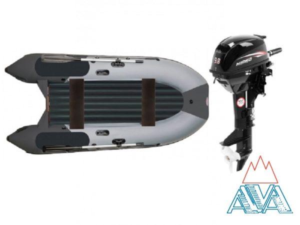 Лодка Навигатор 335 НДНД Light + HIDEA HD9.8FHS