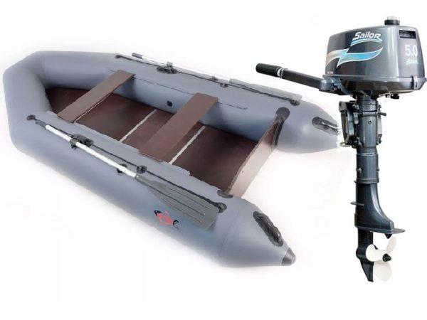 Комплект - Надувная лодка Арчер А-310 + Лодочный мотор Sailor 5.0 купить недорого. Цена: 57500 руб.