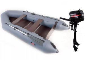 Комплект - Надувная лодка Арчер А-310 + Лодочный мотор HANGKAI 4.0HP купить недорого. Цена: 44500 руб.
