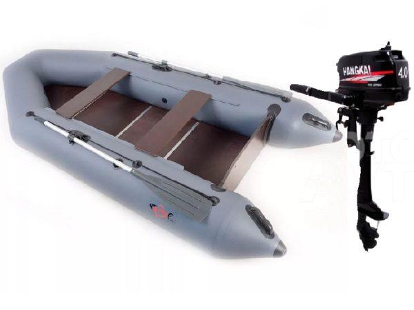 Лодка Арчер-310 + мотор Hangkai-4.0. СКИДКА! Кредит! Доставка!
