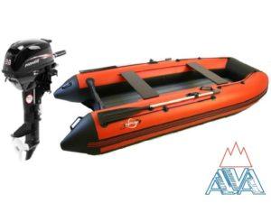 Лодка Арчер 330НДНД + мотор HIDEA-9.8 Комплект. СКИДКА! Кредит!