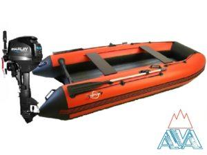 Комплект - Надувная лодка Арчер 330НДНД + Лодочный мотор Marlin MP9.8 AMHS купить недорого. Цена: 91000 руб.