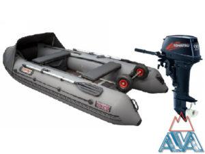 Лодка Викинг 360PRO + TOHATSU M9.9D2