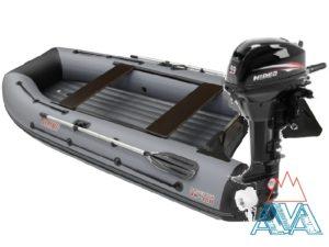Надувная лодка Викинг 360HD + мотор Hidea HD9.9 FHS