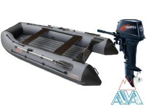 Лодка Викинг 360HD + Tohatsu M9.9D2