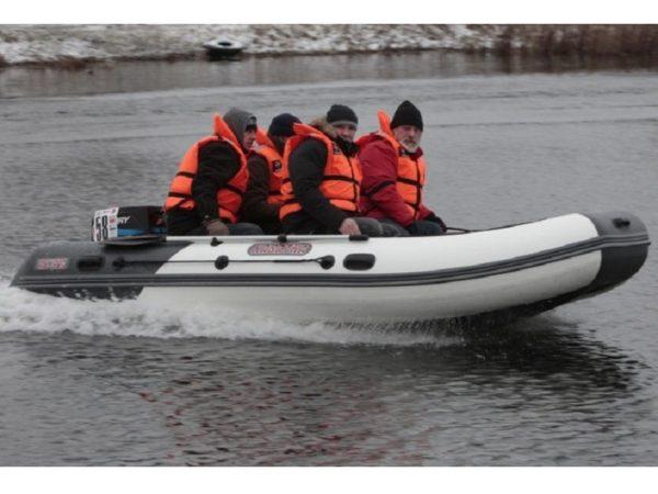 Лодка Касатка KS 385 + Мотор HIDEA HD18FHS, купить недорого. Цена: 133000 руб.