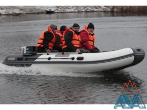 Надувная лодка Касатка 385 Marine