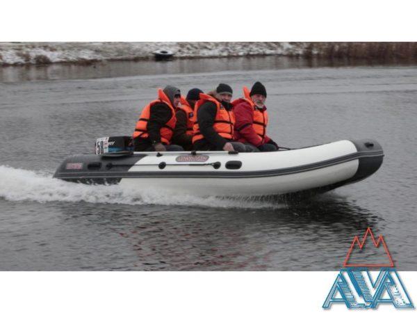 Комплект - Надувная лодка Касатка KS 385 + Лодочный мотор Tohatsu M18E2 купить недорого! СКИДКА + ПОДАРКИ!