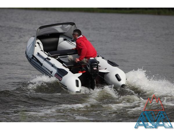 Надувная лодка ПВХ Альбатрос AV-340 + лодочный мотор Marlin MP 9.9 AMHS купить недорого. СКИДКА!