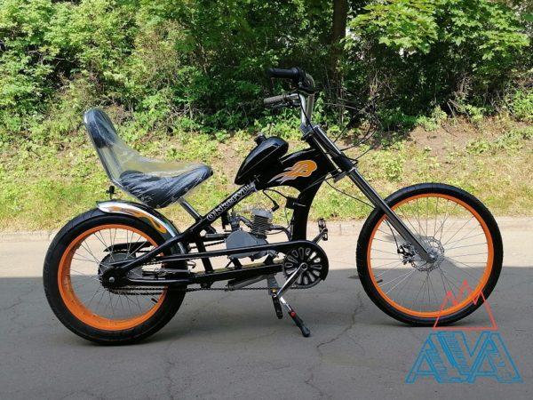 Велосипед с мотором OK-32003 Chopper 50см3 СКИДКА 20%
