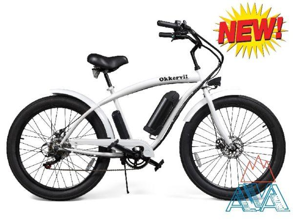 Электровелосипед полуфэтбайк 350W Cruiser GH-32702-2E1