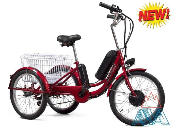 Электровелосипед Трехколесный Ok-Li-ion 20'' 350W