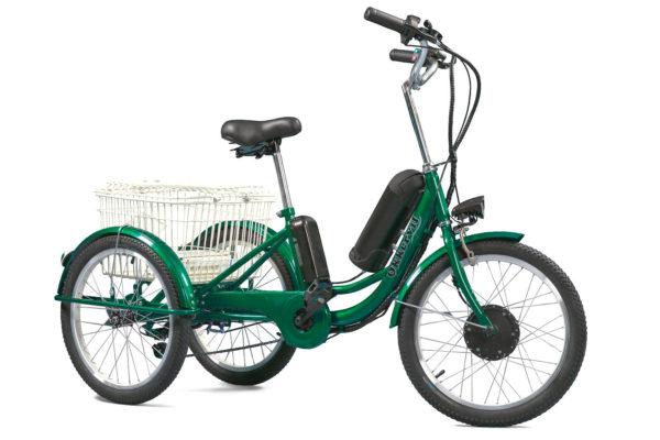 Электровелосипед 3-х колесный Okkervil 350W 20''