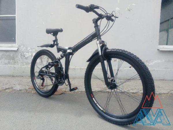 """Велосипед двухподвесный складной 26"""""""