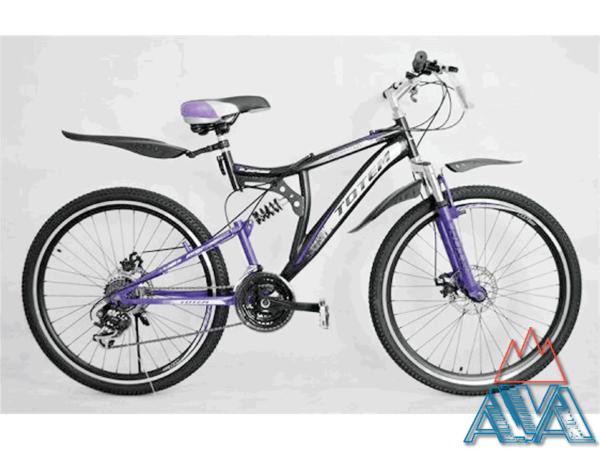 Велосипед двухподвесный Totem 26 СКИДКА 18% купить недорого.
