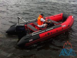 Надувная лодка Посейдон-520 Красный